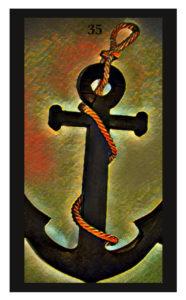 Lenormand Anchor Card