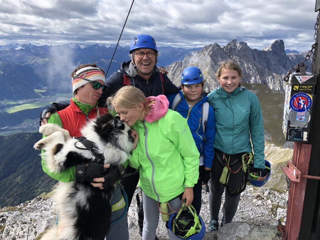 Klettersteig und Bergwandern mit Kinder