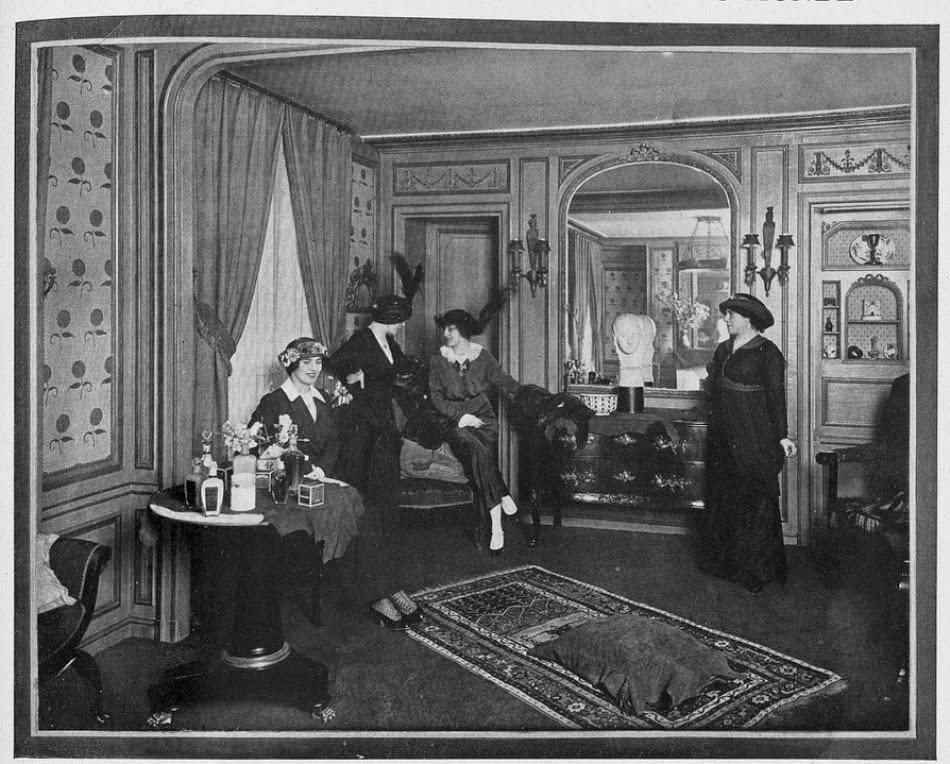 Helena Rubinstein's Paris Salon