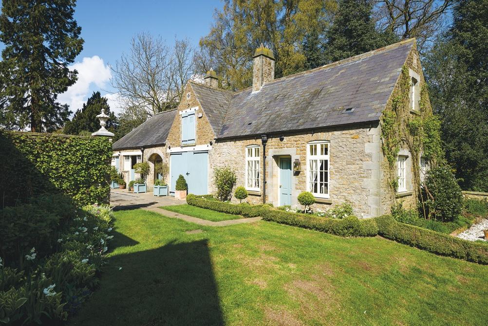 Linda Fenwick's North Yorkshire home