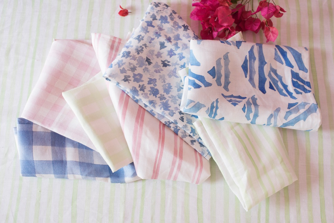 Georgia Macmillan new linen collection