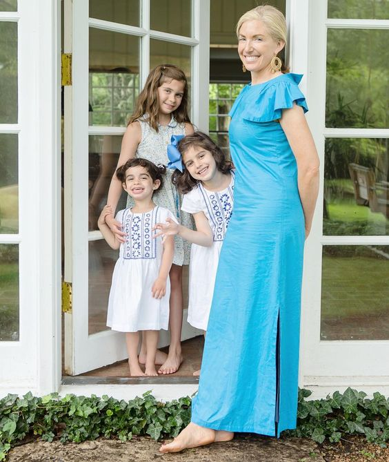 Olivia Joffrey with her three daughters