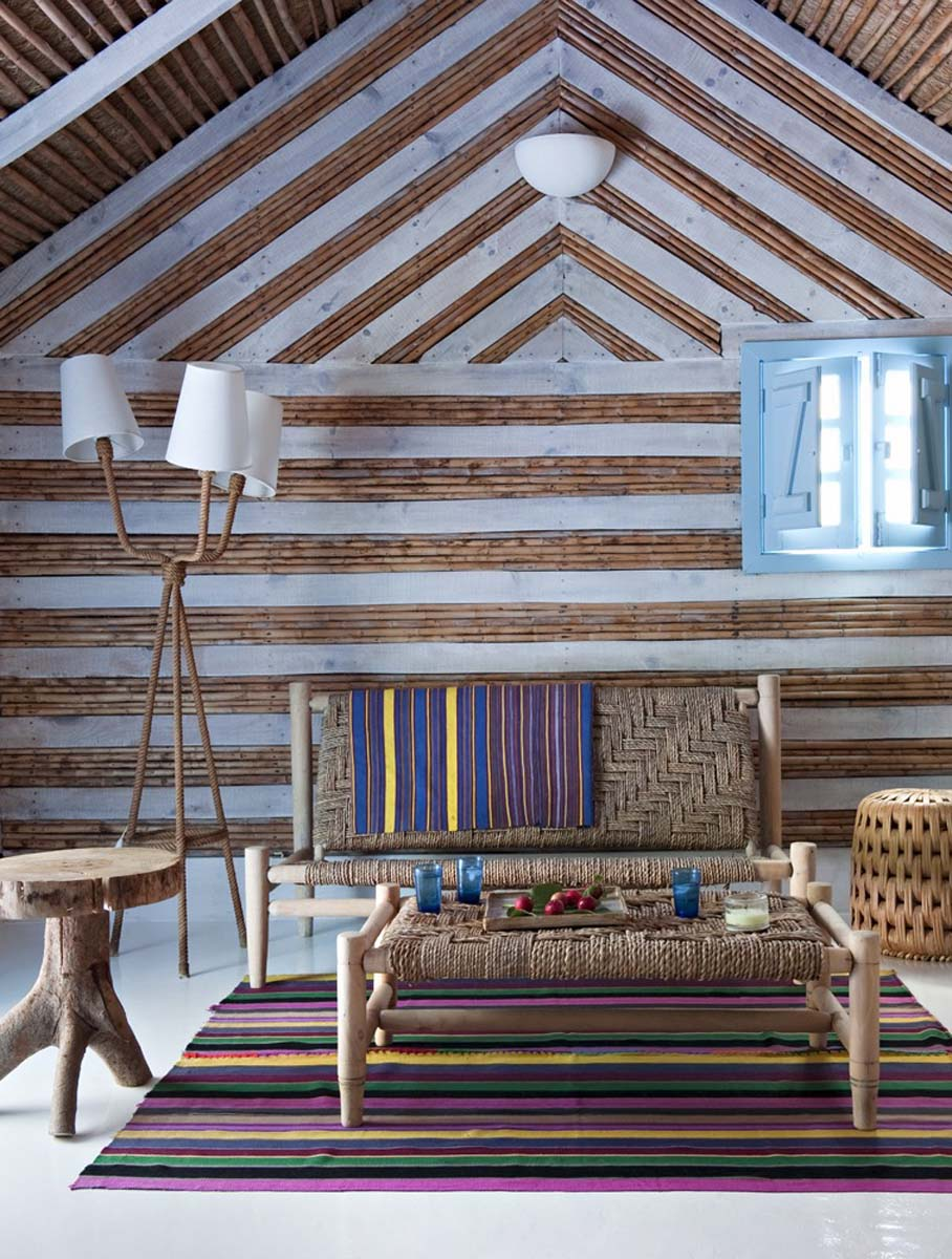 """A Cabana in Comporta by Vera Iachia. She is most renown for the """"Comporta Lifestyle,"""" for which she was the originator, with interiors, architecture and product design that marry a traditional Portuguese fisherman's vernacular with her seamless signature contemporary aesthetic"""