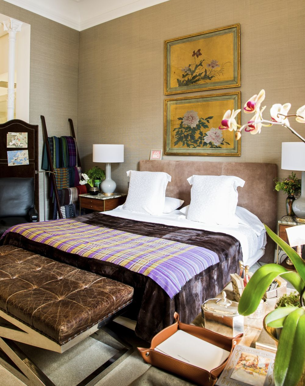 Manolo March Madrid home decorated by Pepa Yuste