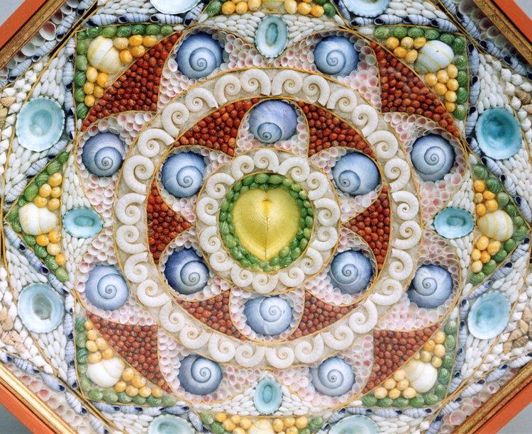 tess morley shell art