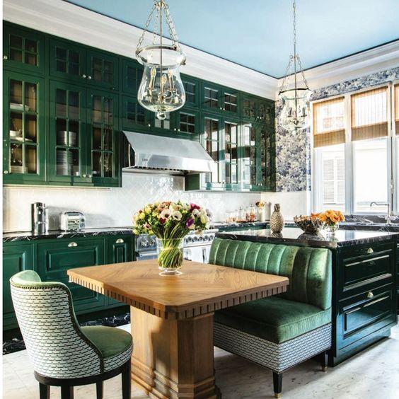 lorenzo castillo green kitchen