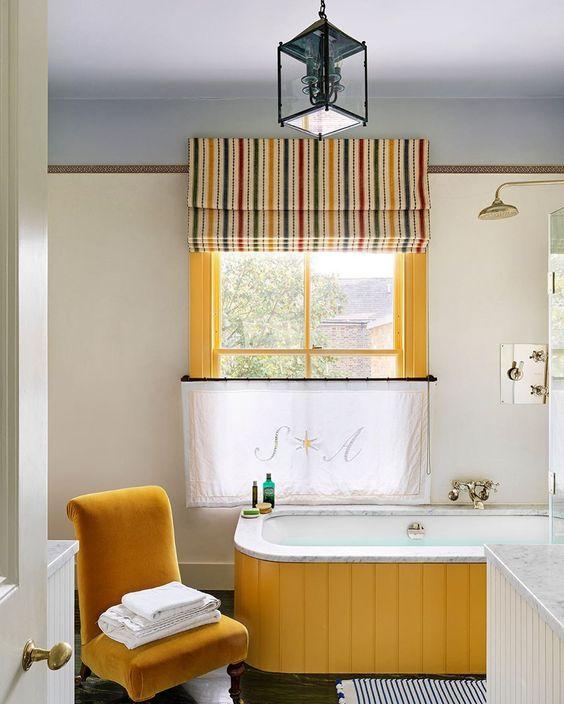 Bathroom by Beata Heuman