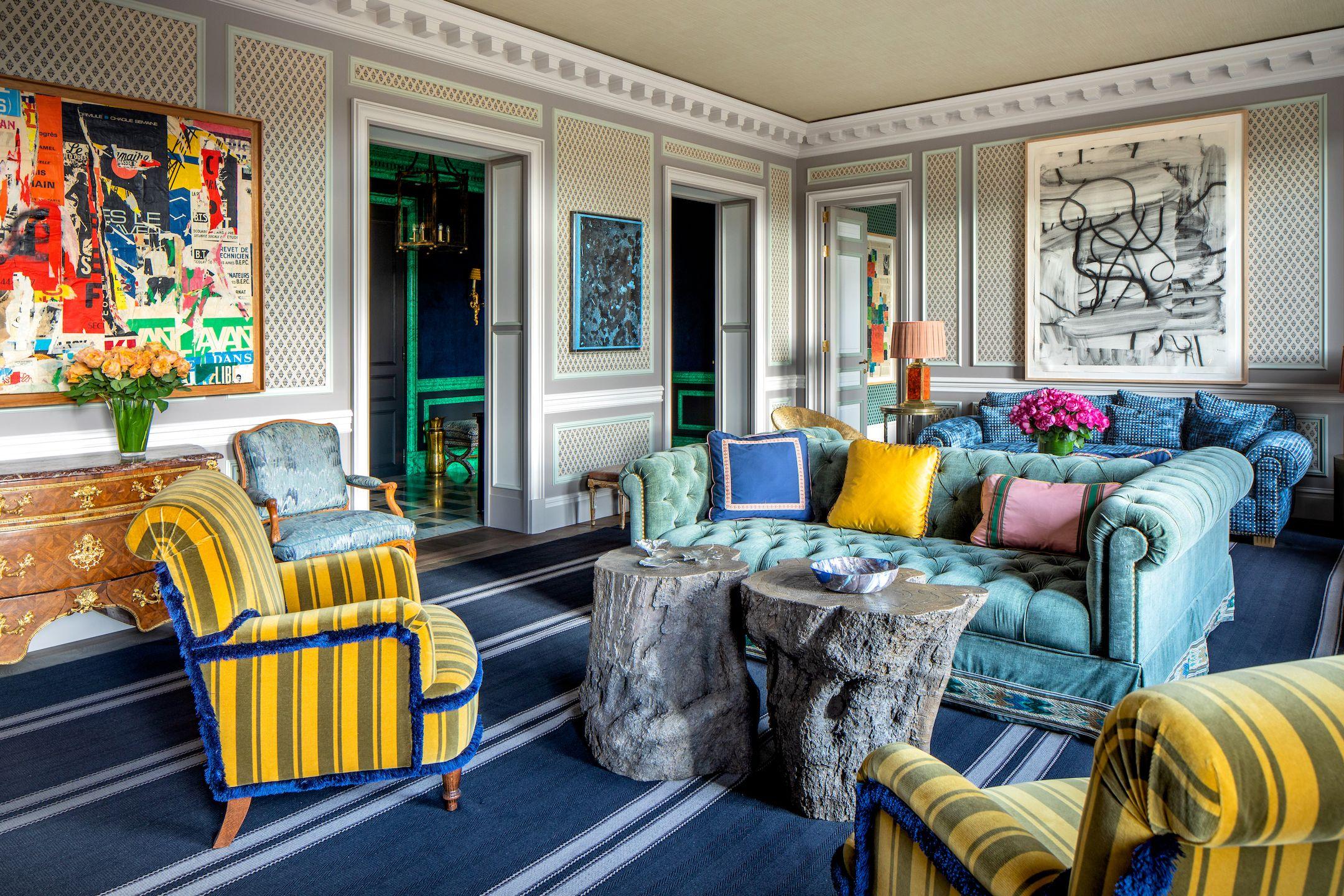 Paris Apartment by Lorenzo Castillo. Ricardo Labougle photogrpahy