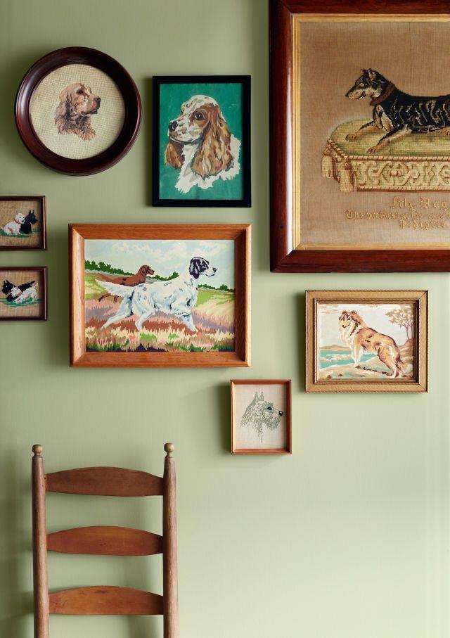 dog gallery wall