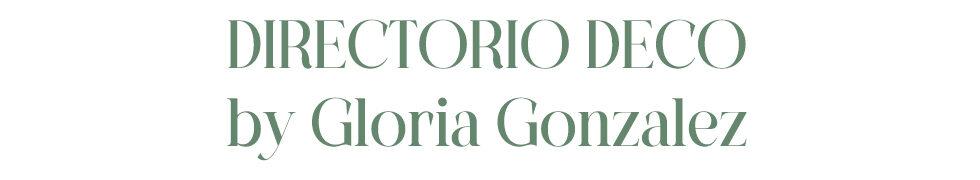 Directorio Deco by Gloria Gonzalez