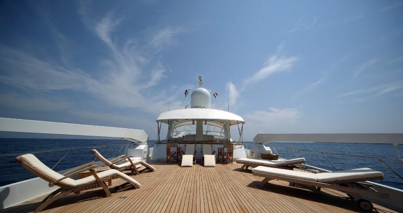 Sun deck | India