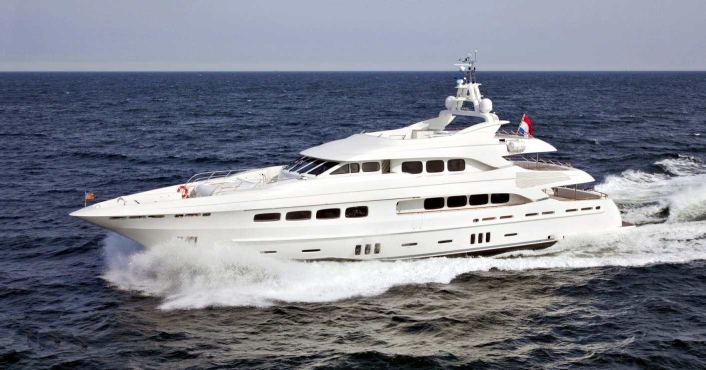 Luxury yacht for Charter   Latitude by Dutch Yacht Builders