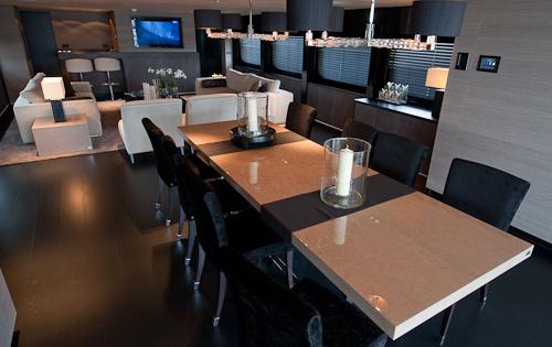 Salon dining | Latitude