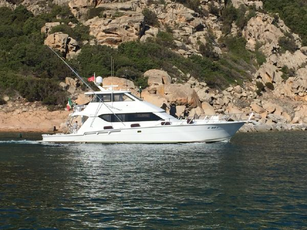 Luxury yacht for Sale   Makaira by Hatteras Yachts