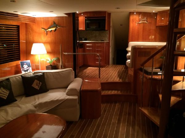 Galley view from entrance | Makaira