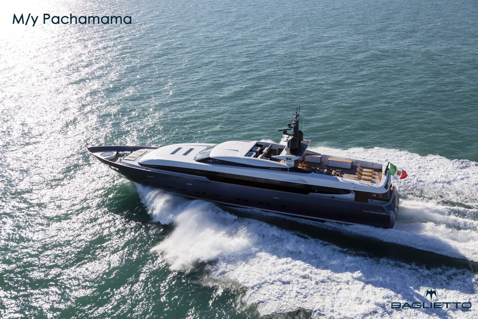 Luxury yacht for Sale | Pachamama by Baglietto