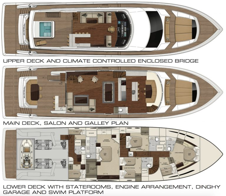 viking-93-layout | 93 Motor Yacht