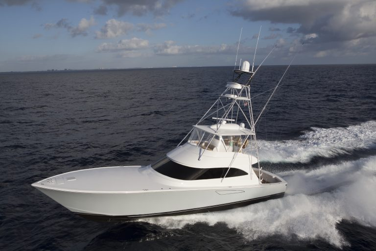 Luxury yacht for Sale | 62 Convertible by Viking Yachts
