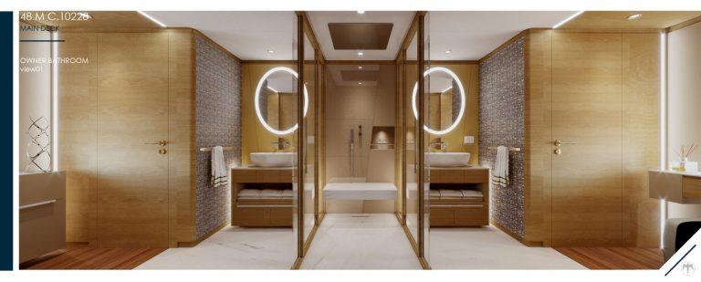 48M_10228_Owner Bathroom view01 | 48M Displacement