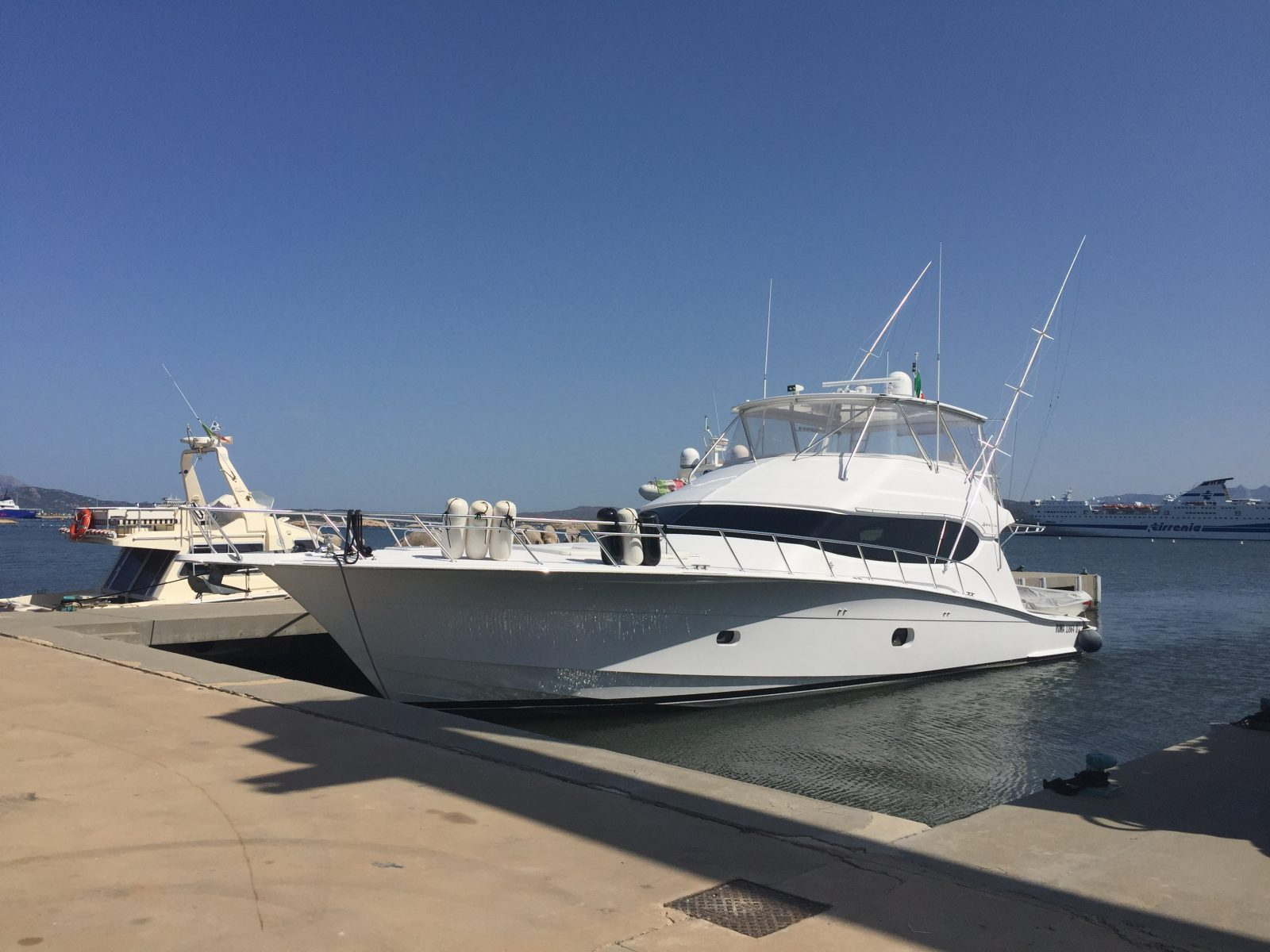 Luxury yacht for Sale | Cleman by Hatteras Yachts