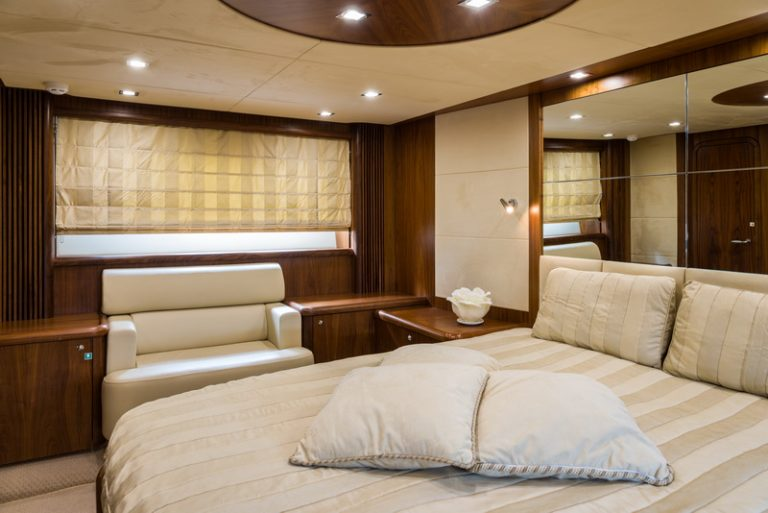 ASPIRE OF LONDON master stateroom | ASPIRE OF LONDON