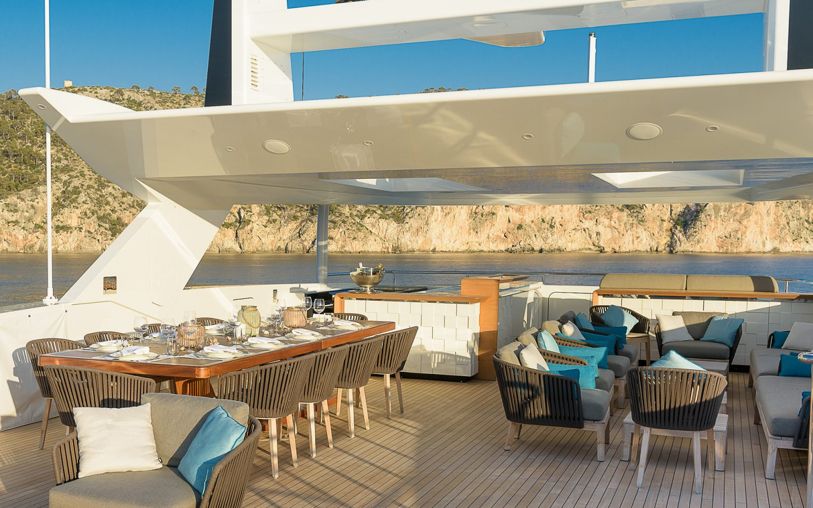 MR. T upper deck dining area | Mr. T