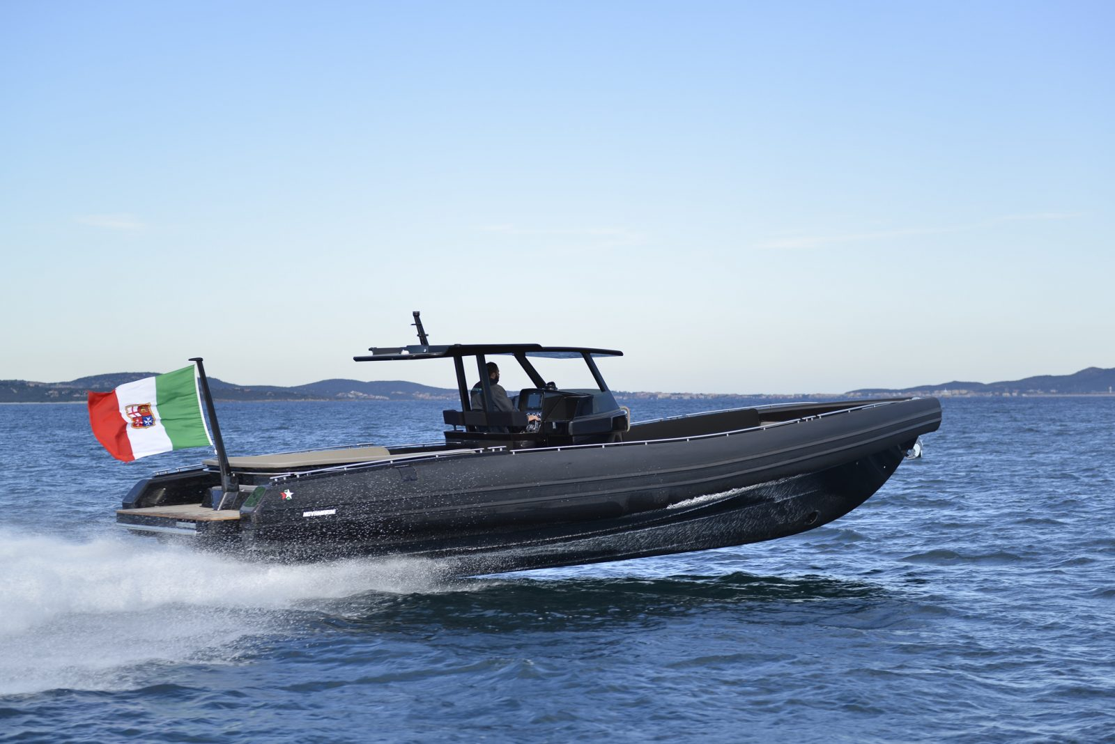 Luxury yacht for Sale or Charter | Black Shiver 120 (New) w/ Diesel Inboards by Novamarine