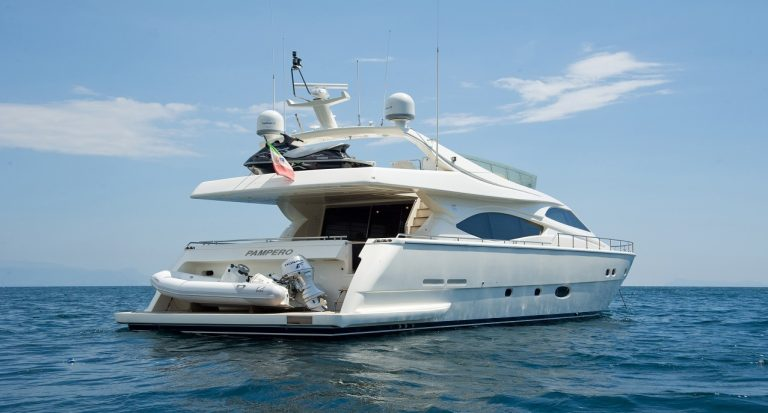 Luxury yacht for Charter | PAMPERO by Ferretti Yachts