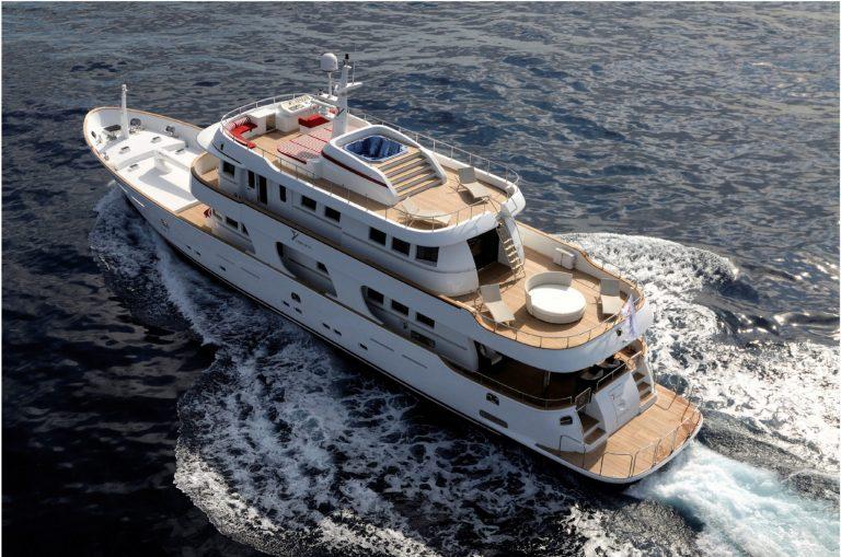 Luxury yacht for Charter | TANANAI by Terranova