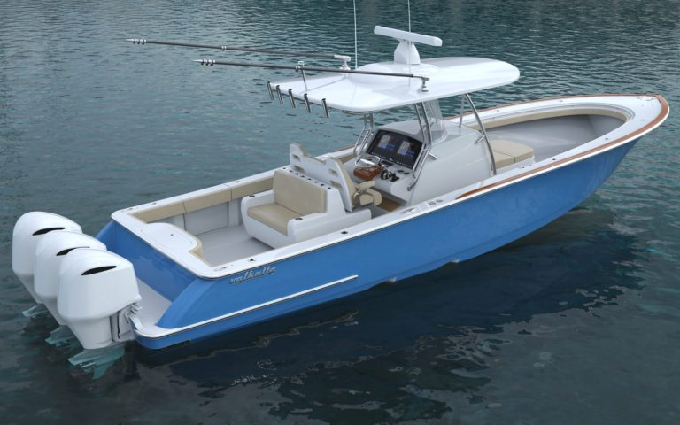 Luxury yacht for Sale | VALHALLA V-37 (New) by Valhalla Boatworks