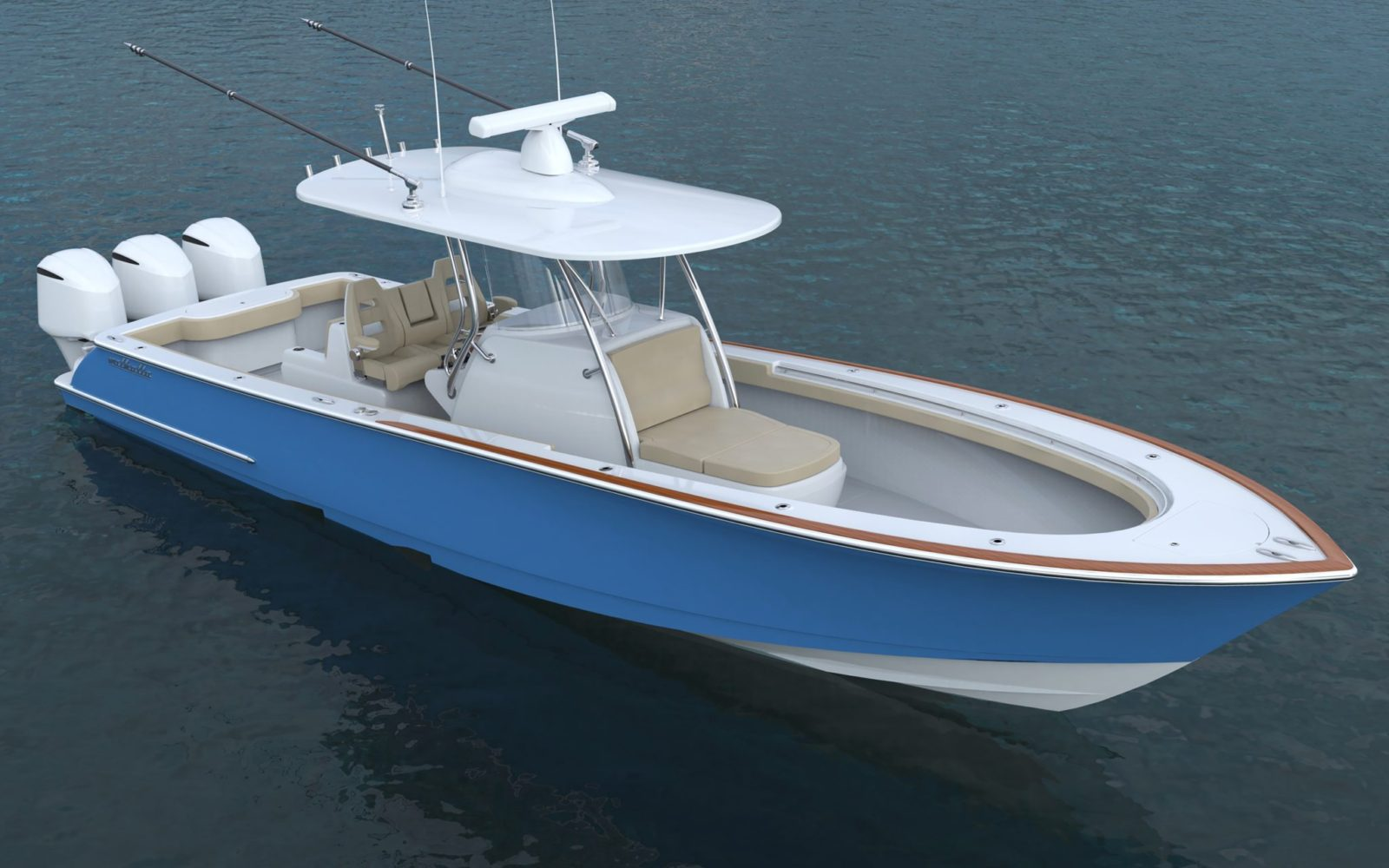 V37_Bow Quarter_Water   VALHALLA V-37 (New)