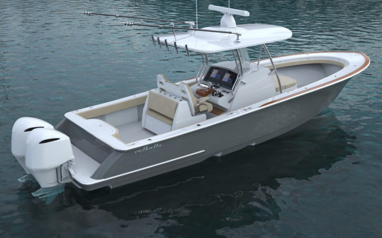 Luxury yacht for Sale | VALHALLA V-33 (New) by Valhalla Boatworks