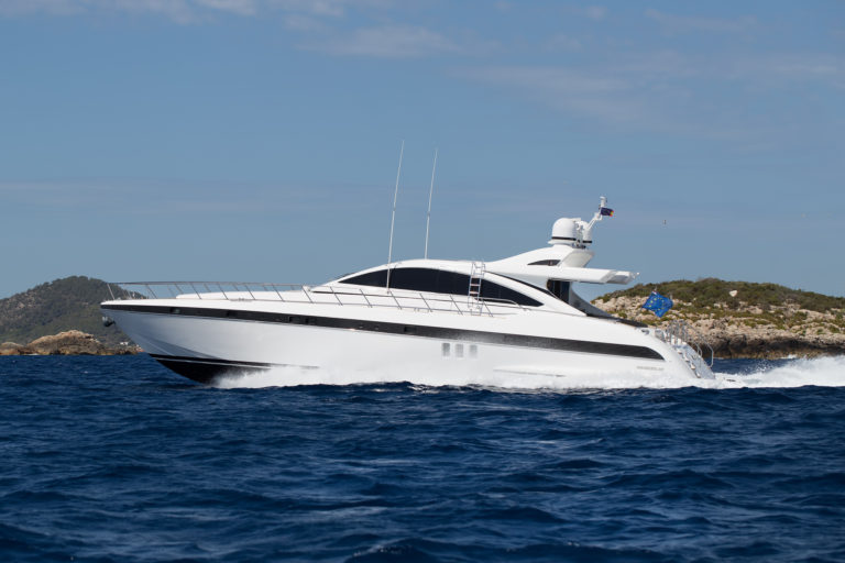 Luxury yacht for Charter | MILU' II by Mangusta Overmarine
