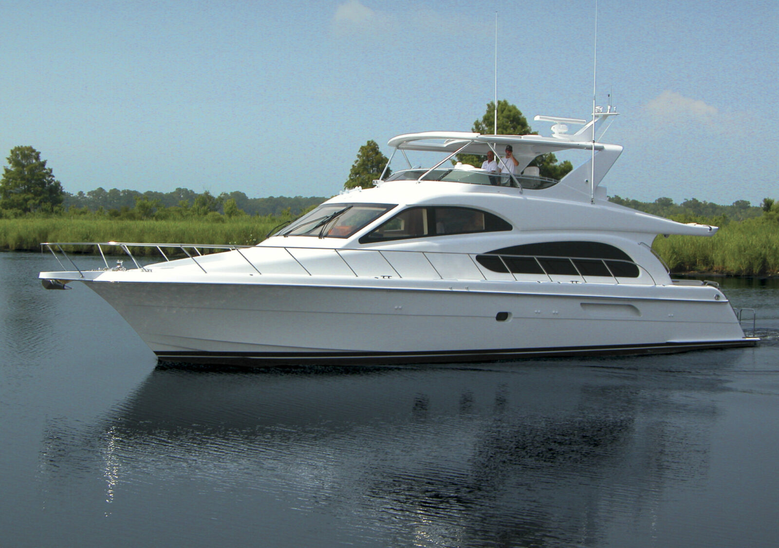Luxury yacht for Sale | Juliette IV by Hatteras Yachts