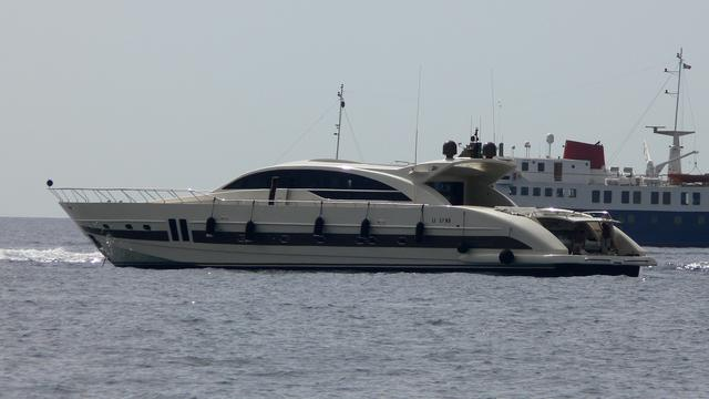Luxury yacht for Charter   GINEVRA by Tecnomar