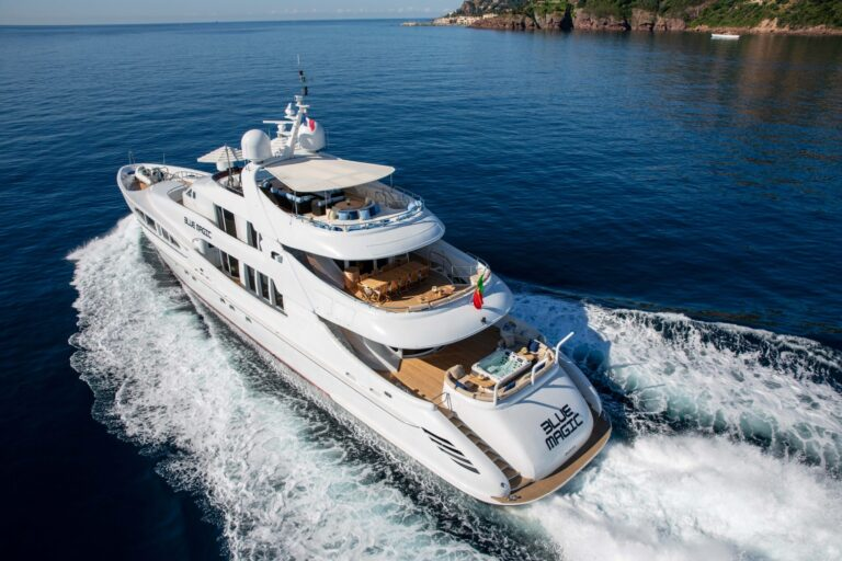 Luxury yacht for Charter | BLUE MAGIC by Heesen