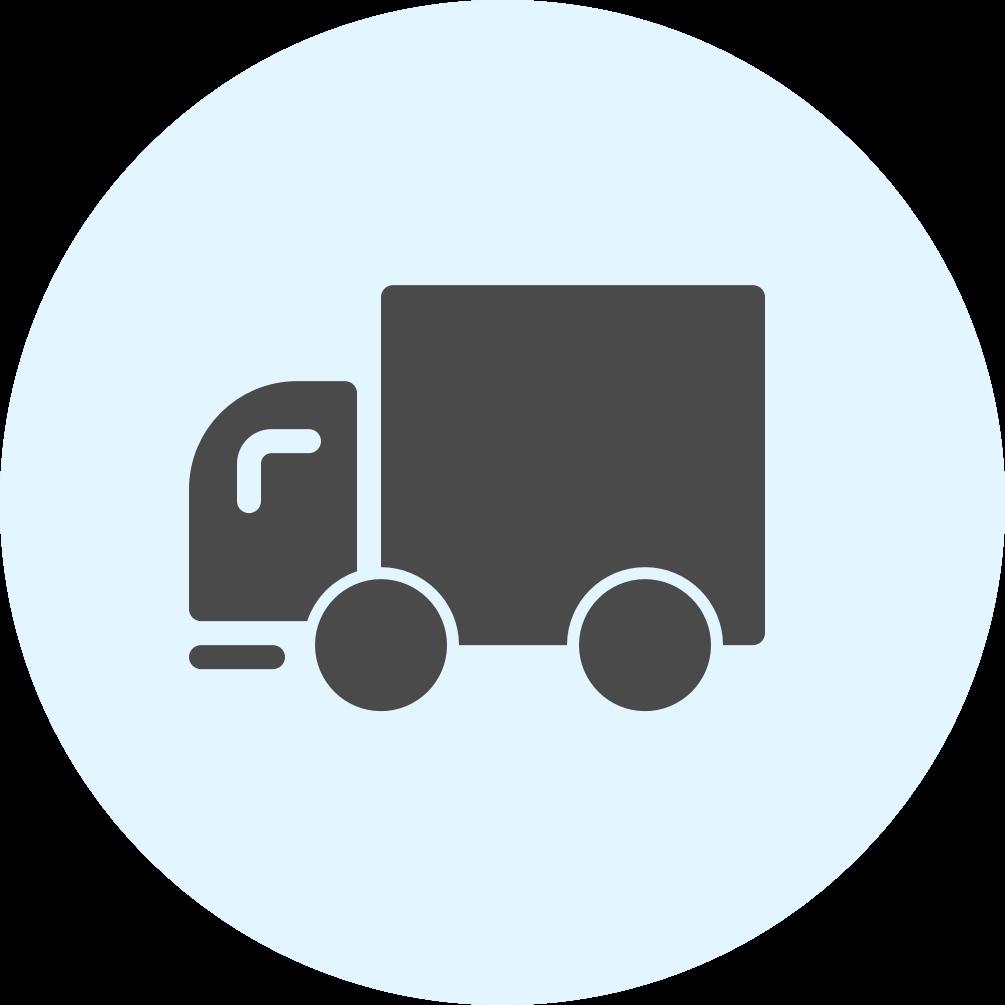 Transport Management Icon Logo 3x / fulfillment