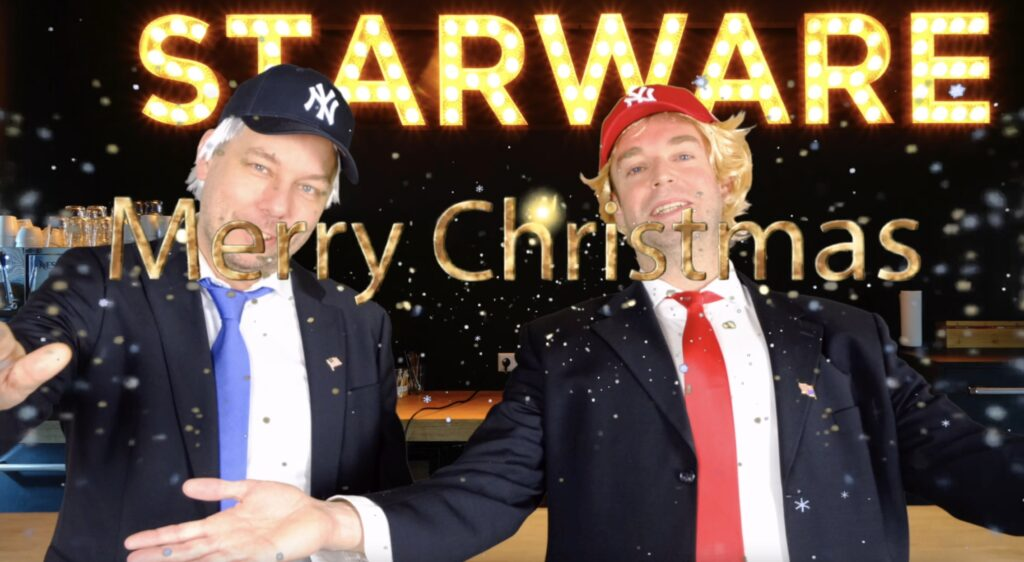 Marc and Roland aak trump and biden