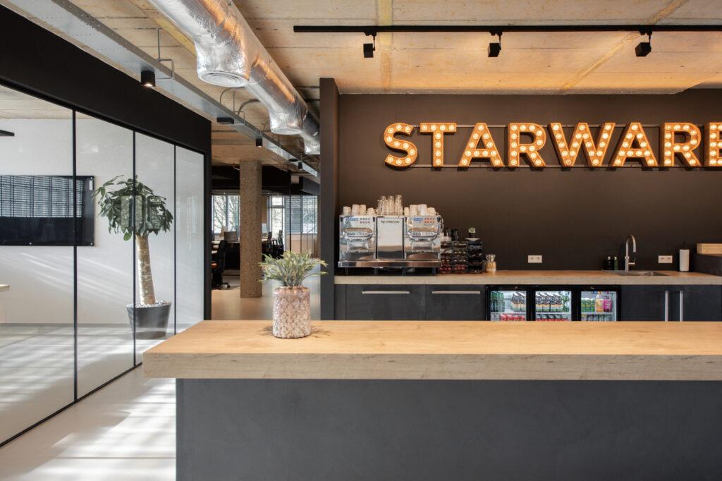 new office gouda  Bulb logo Starware