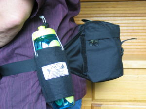 Water Bottle Carriers mount to any strap or belt