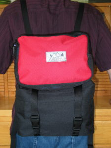 Add the Piggy-back module to Shadow Pack using utility straps to extend capacity for a day pack.