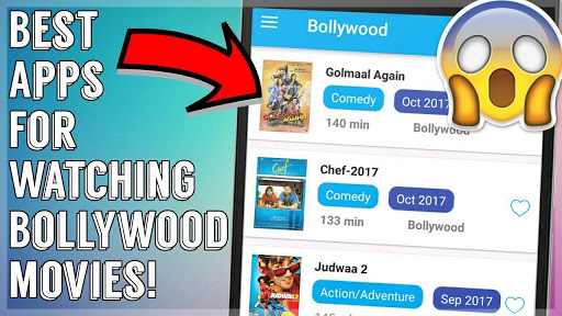 Best Android Apps For Watching Bollywood Movies