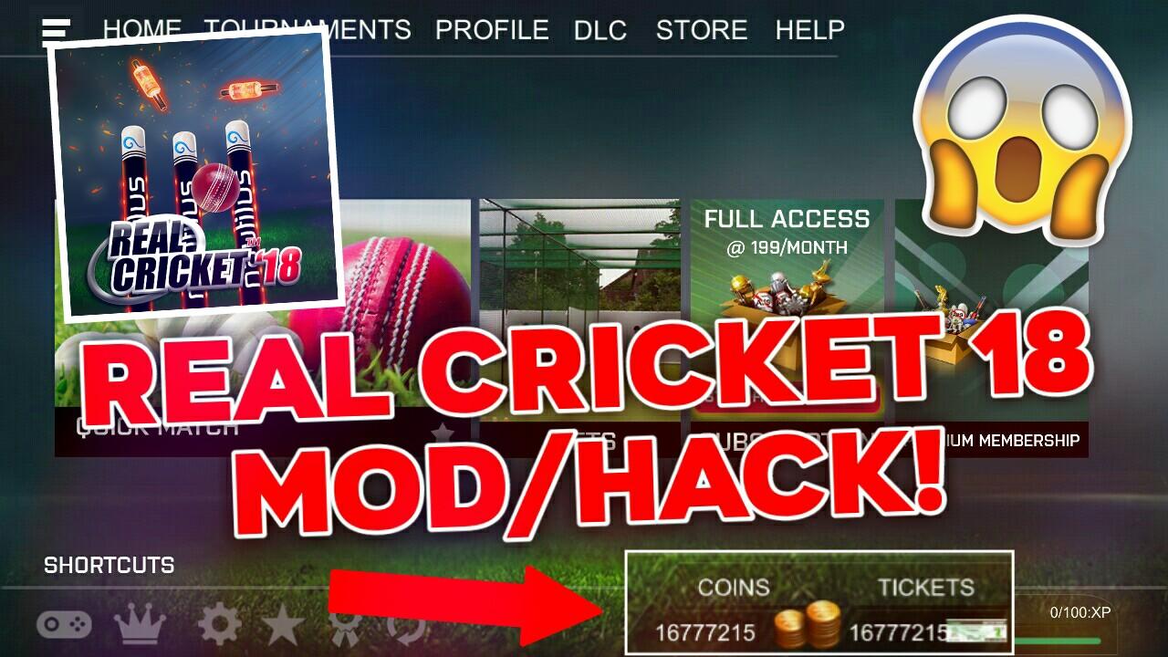 Real Cricket 18 Mod/Hack v1.5