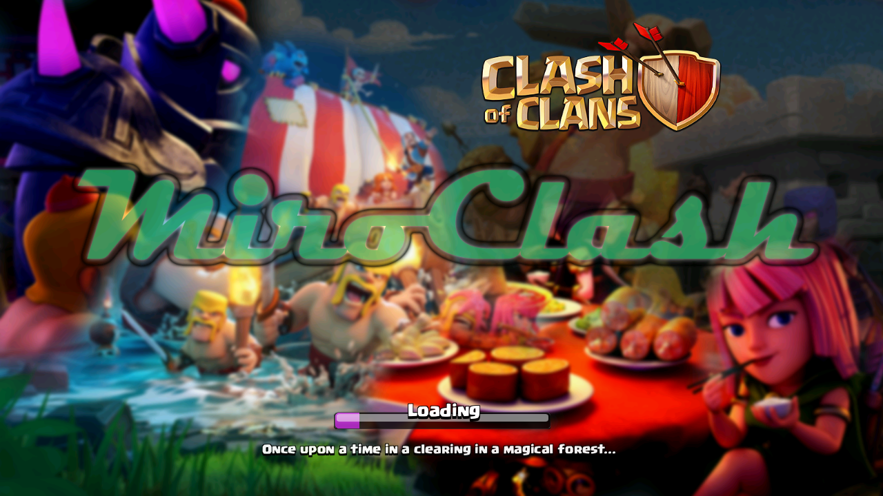 Download Clash of Clans Private Server MiroClash v9.962.20