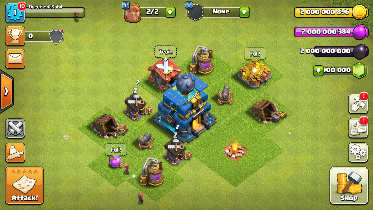 Clash of Clans Private Server with New Town Hall 12