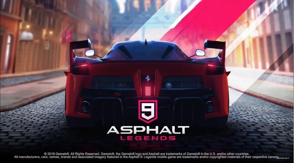 ASPHALT 9 LEGENDS APK MOD ANDROID V0.5.0D