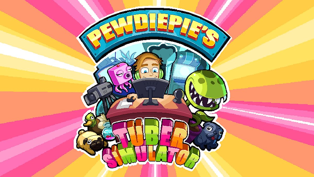PewDiePie's Tuber Simulator MOD APK 1.26.0 (Unlimited Money)