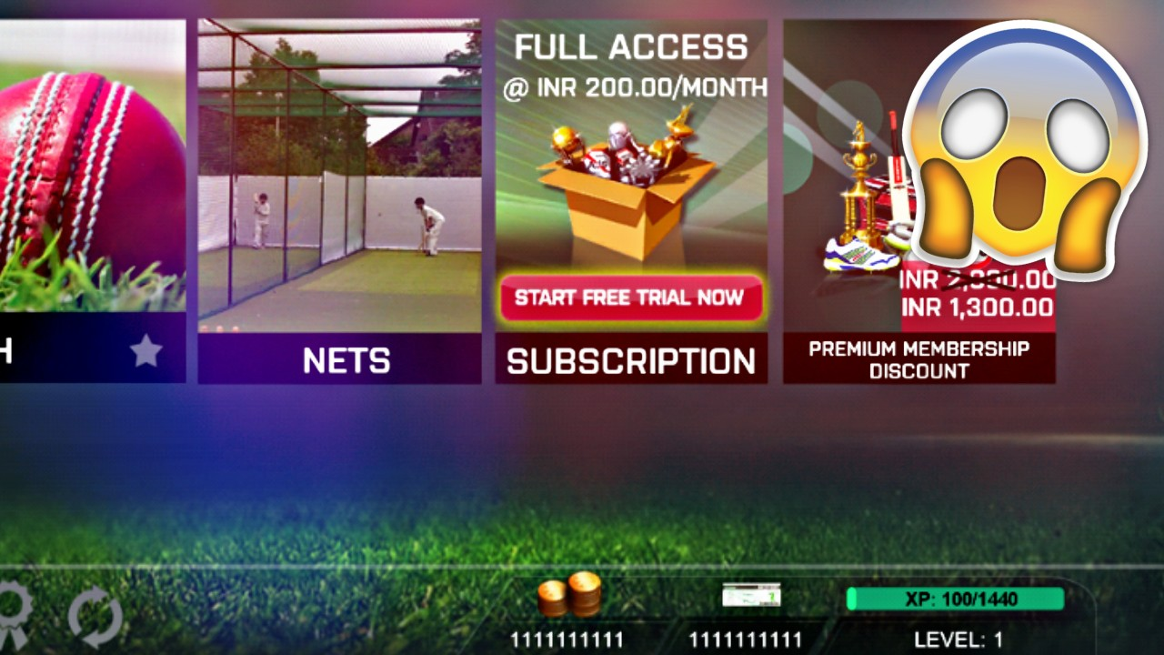 Real Cricket 3D 18 MOD APK 1.7 ( Unlimited Money)
