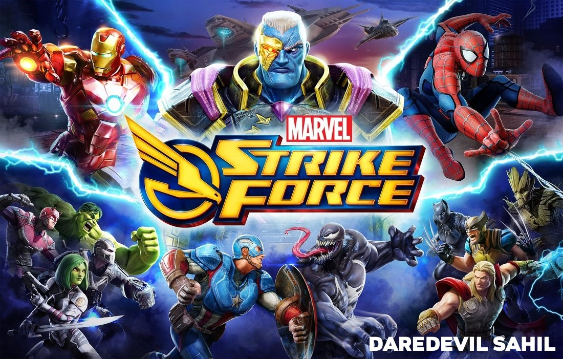 MARVEL Strike Force MOD APK 1.4.2 (Unlimited Energy)