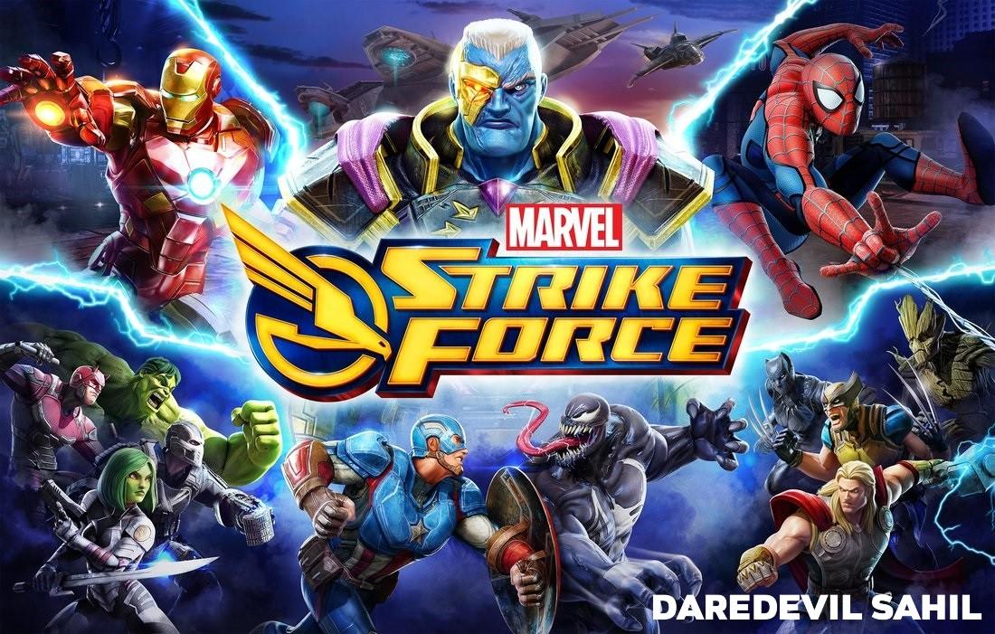 MARVEL Strike Force MOD APK 1.4.2 (Unlimited Energy)